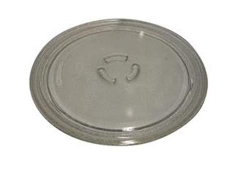 Whirlpool - Piatto girevole in vetro, diametro 28 cm, per Microonde Whirlpool vt252 vt262 vt262wh vt255