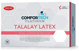 TONTINE Comfortech Platinum Latex Dual Contour Profile Pillow