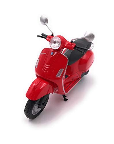 31S ltE0OSL - Onlineworld2013 Modellauto Motorroller Roller Rot Auto Maßstab 1:34-39 (lizensiert)