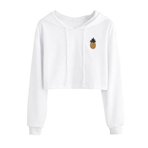 Sweatshirt Femme Imprimé, LMMVP Femmes Sweat à Capuche...