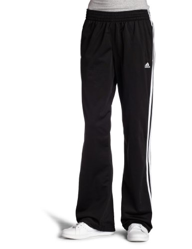 adidas Women's 3-Stripes Pant, Black/White, 3X-Large