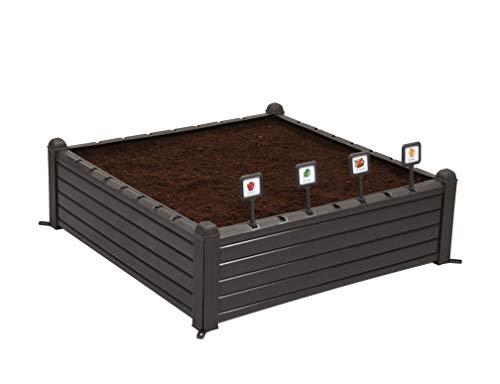 Keter Raised Garden Bed, Brown
