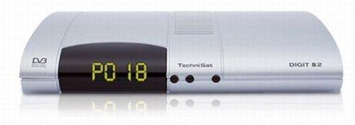 TechniSat Digit S2, Digitaler Satellitenreceiver mit integriertem SIM-Card Reader und CONAX + CryptoWorks Embedded (Arena geeignet)