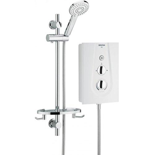 Bristan JOYT95 W 9.5 kW Joy Thermosafe Electric Shower - White