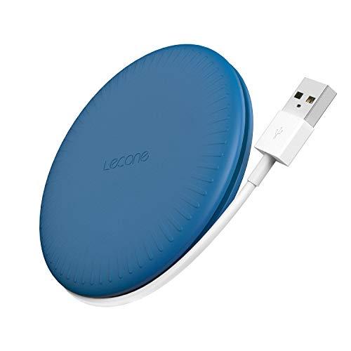 Lecone - Caricatore Wireless con Ricarica Rapida 10W (Blu)