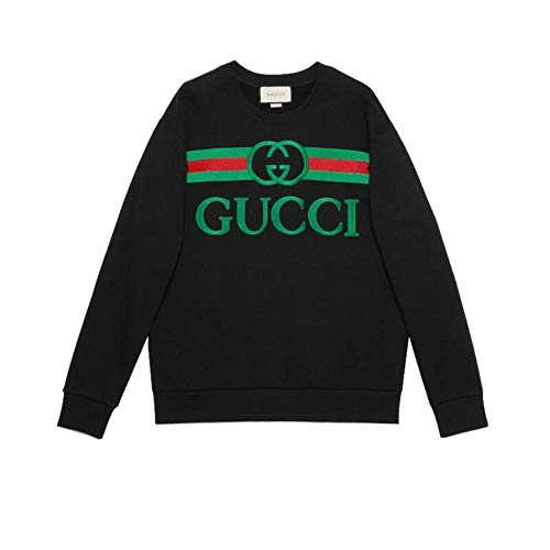 Gucci Luxury Fashion Damen 469250XJCCG1082 Schwarz Sweatshirt | Frühling Sommer 20