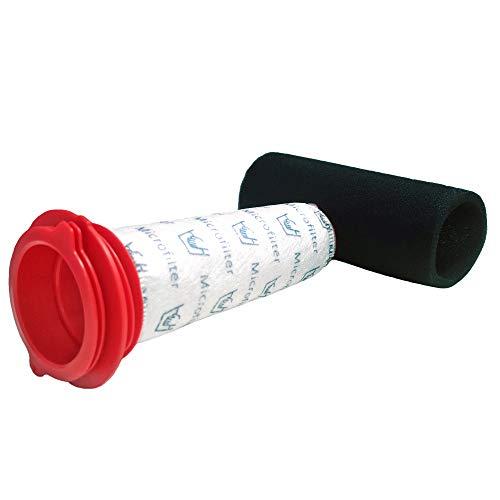 CleanMonster - Juego de filtros para aspiradora Bosch Athlet serie BCH6, BCH6L2560, BCH6L2561, BCH6ZOOO Zoo'o ProAnimal, juego de filtros compatibles con Bosch 00754176, 00754175