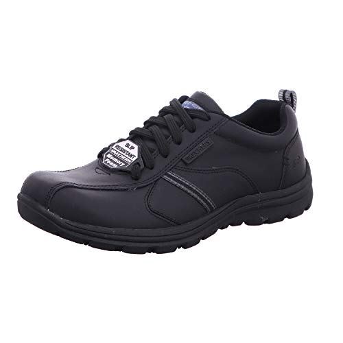 Skechers Men's Hobbes-Frat Safety Shoes, Black (Blk), 6 UK 39 1/2 EU