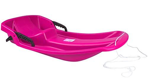 Sport-Otto Trineo de plástico (Rosa)