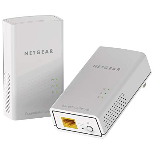 NETGEAR PowerLINE 1000 Mbps, 1 Gigabit Port - Essentials Edition (PL1010-100PAS)