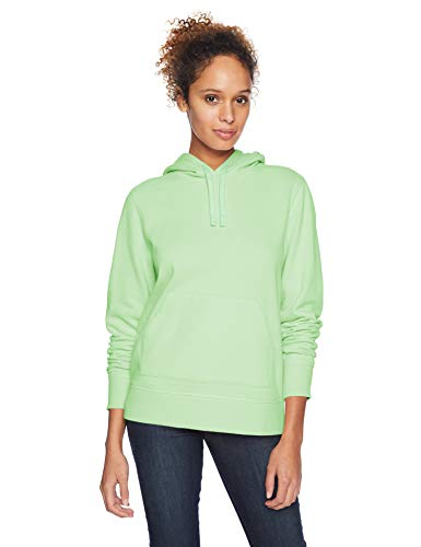 Amazon Essentials French Terry Fleece Pullover fashion-hoodies, Bright Mint, L