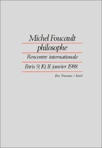 Michel Foucault philosophe