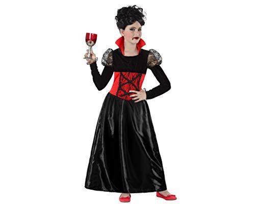 Atosa 61473 Kostuum Vampier Vrouw Rode Dracula, Meisje, 3-4 Jaar