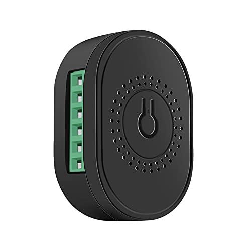 skrskr WiFi 2-Wege Smart Switch Modul Haushalt Home Switch Controller Mini Switch Fernbedienung Ein- und Ausschalter Kompatibel mit Sprachassistenten