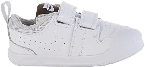 Nike Pico 5 (TDV), Zapatillas para Bebés, White White Pure Platinum, 21 EU