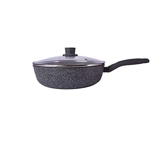 Boloi Multifunctionele Frying Pan Anti-stick Wok Huishoudelijke Wok Kleine Voor-Seasoned Skillet Voor Kookplaat, Oven, Of Kamp Koken