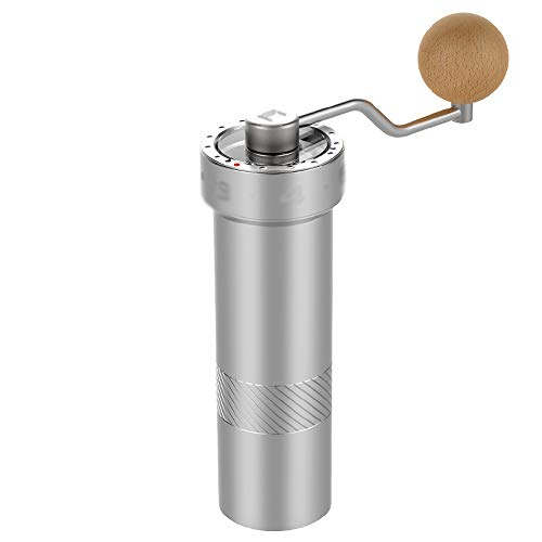 Buy Bargain NingNing Manual coffee grinder, metal simple fashion travel household ball manual coffee...