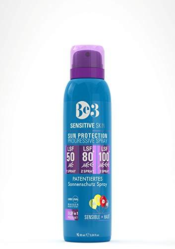 Be3sensitive Skin Sun Protection, 3 Lsf In 1 Produkt, Lsf 50/80/100, Empfindliche Haut, Für Babys Geeignet, 90 Ml