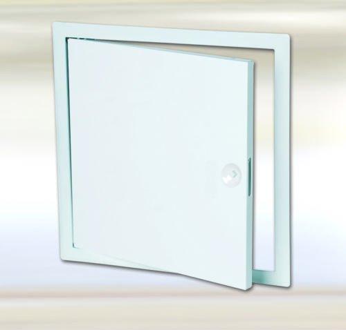 FF Systems España   Trampillas metalicas  Puerta de inspeccion todos los tamaños   Placa metálica para pared   Puerta de contadores   Compuerta de revision con cerradura cuadradillo blanco 50 x 50 cm