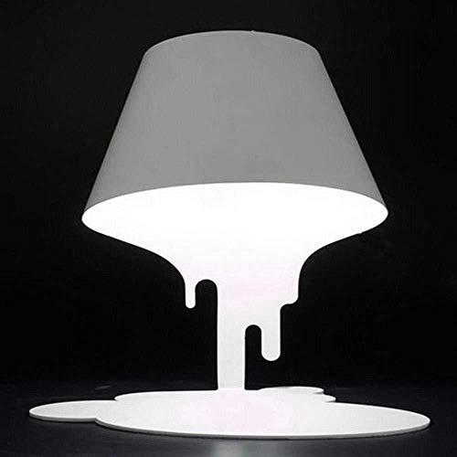 Sebasty Modern, minimalistische, Dumping Farbeimer LED-Schreibtischlampe, Dumping Farbeimer Glas LEDNightlight mit vollen Eisen Lampen-Körper for Schlafzimmer, Wohnzimmer, Dekoration, Geschenk Luxus R