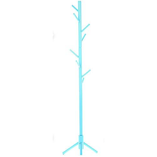 NEHARO Abrigo Soporte de Rack Salón Dormitorio Escudo Creativo del Suelo de suspensión Moderna Cremallera de una Pieza Estante de la Capa de Suelo de Madera Fácil de Acceder
