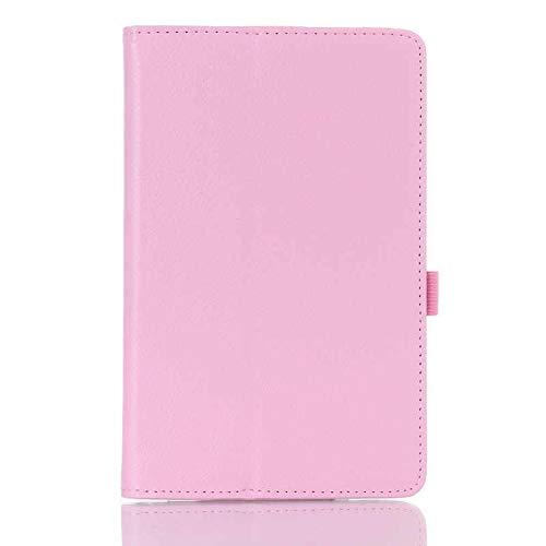 HHF Tab Accesorios para Xiaomi MiPad 2 Mi Pad 2, funda delgada magnética Smart Auto Sleep-Wake Up Flip Stand Funda PU para Xiaomi MiPad 2 7.9'' (color rosa
