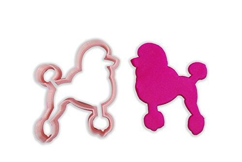 Poodle Dog Breed Cookie Cutter - ALL SIZES SET