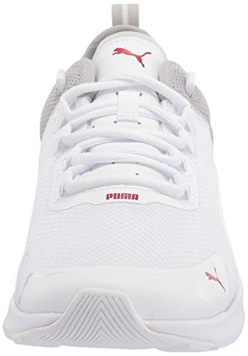 PUMA Electron Street Era, Zapatillas para Hombre, Blanco Alto Riesgo Rojo, 45 EU