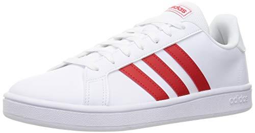 adidas Grand Court Base, Zapatillas Hombre, Ftwwht Vivred Ftwwht, 41 EU