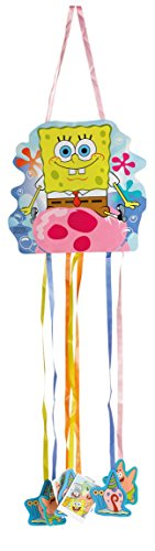 amscan 998296 Pinata Spongebob Spielzeug, Mehrfarbig