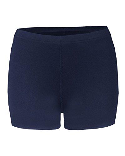 Badger Sport Navy Ladies XS Compression 4' Inseam Shorts
