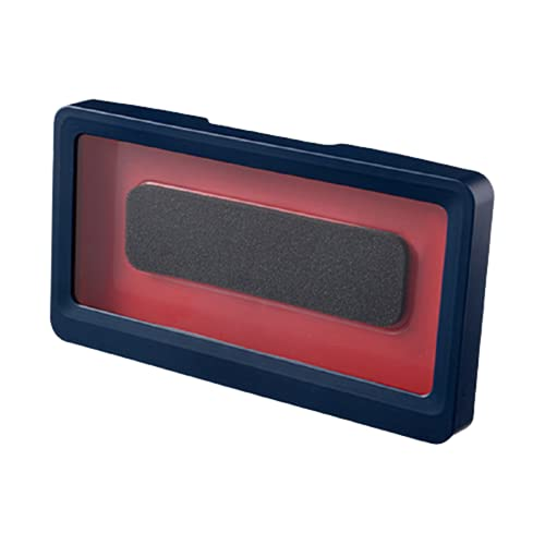 Ducha Impermeable montada en la Pared Caja de Almacenamiento para teléfono móvil Caja Impermeable para teléfono móvil Ducha de perforación Gratis Chase Drama,Blue