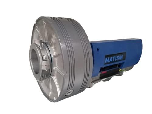 MATISMO AME-175 - Motor para puerta enrollable de hasta 200 Kg - Incluye cable de desbloqueo, central y dos mandos a distancia