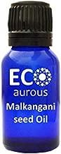 Malkangni Seed (Celastrus Paniculatus) Oil 100% Natural, Organic & Vegan Malkangni Seed Essential Oil | Malkangni Seed Absolute Essential Oil | Pure Malkangni Seed Oil By Eco Aurous (0.50 OZ, 15 ML)