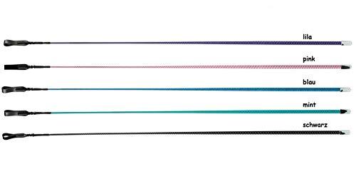NETPROSHOP Dressurgerte Reitgerte Springgerte Springstock ohne Griff 65cm / 110cm Auswahl, Farbe:Pink, Groesse:110 cm