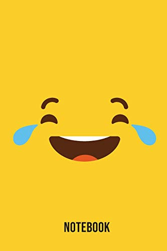 Notebook: Laughing Emoji Emoticons Notebook,: Emoticons Notebook For Kids, social media emoticons Journal, Emoticon Face Themed Birthday, Emoji ... Emoji Stuff, 120 Pages, 6x9, Matte Cover.