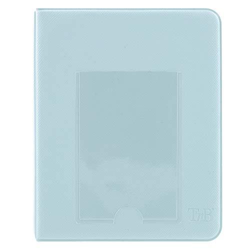 LENSY - Album fotografico Instax Mini, 64 foto, colore: Blu