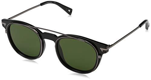 G-STAR RAW Sonnenbrille GS666S-001-50 Rechteckig Sonnenbrille 50, Schwarz