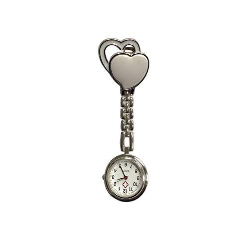 Demarkt Krankenschwester Herren Damen Armbanduhr Analog Herz Uhr