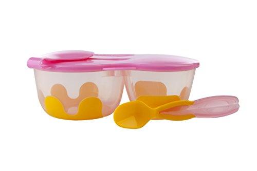 B.Box 302 Lunchbox + Löffel Pinkalily, pink/orange