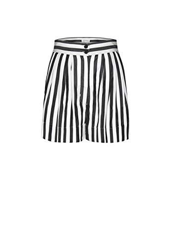 ARMEDANGELS Damen Hose aus Tencel™ Lyocell - JONNAA Big Stripes - L Black 100% Lyocell (Tencel™) Hose Stoffhose