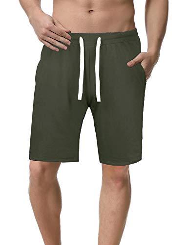 iClosam Short Pants para Hombre Casual EláStico Seco RáPido Pantalones Cortos De Daily
