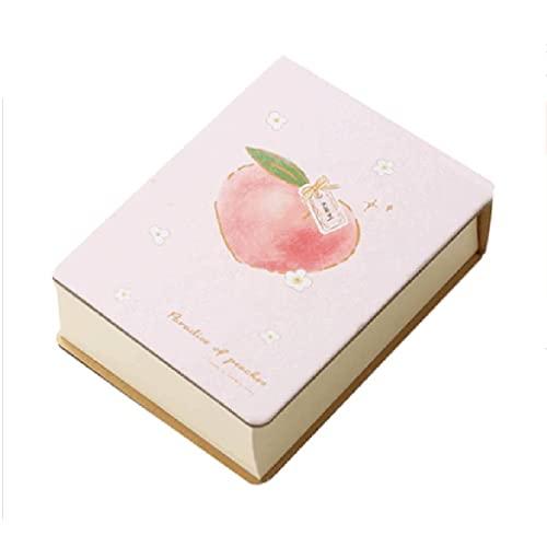 Guomipai Portátil Portátil Mini Memo Pad Lágrimas Mensajes Lindos Lindo Grande Capacidad Gruesa Pequeña Nota Página Nota (250 Hojas) (Color : D)