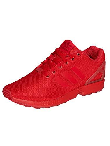 adidas Herren Zx Flux Sneaker, Red/Red/Red, 36 2/3 EU