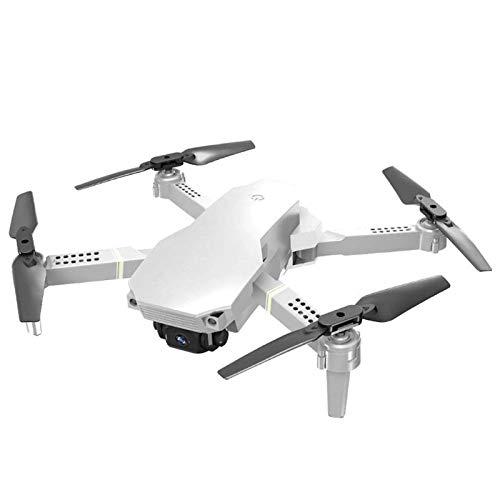 ZHCJH Mini dron 4K con Doble cámara WiFi, Vuelo de Punto Fijo Plegado, transmisión en Tiempo Real, Control de Aplicaciones, Foto/Video, Efectos Especiales, MV, Modo sin Cabeza, niños, Adultos, princi