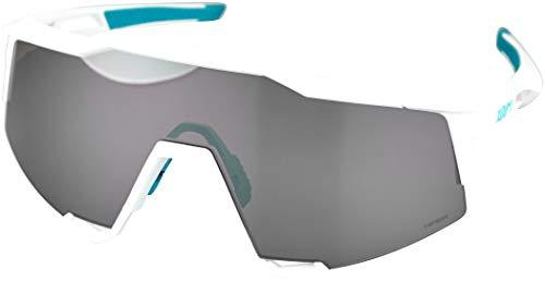 100% GAFAS SPEEDCRAFT - BORA Hans Grohe Team White - HiPER Silver Mirror Lens, Blanco, Estándar