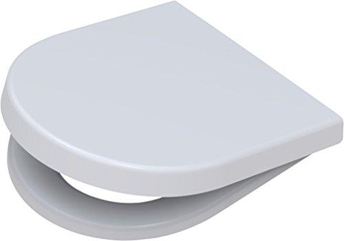 Toto Germany 795680202 Pagette, Sedile copri-WC Starck 3, con sistema di abbassamento automatico ammortizzato, Bianco (Weiß)