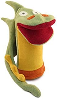 Cate & Levi - Fleece Hand Puppet - Handmade in Canada - Great for Storytelling (Dragon)