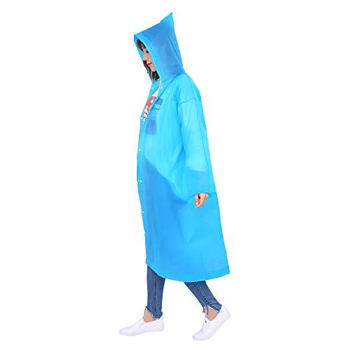 Regenponcho's voor volwassenen Wegwerp Waterdichte regenjas Poncho Plastic Doorzichtige regenkleding voor kamperen, sportevenementen en regenachtig buiten