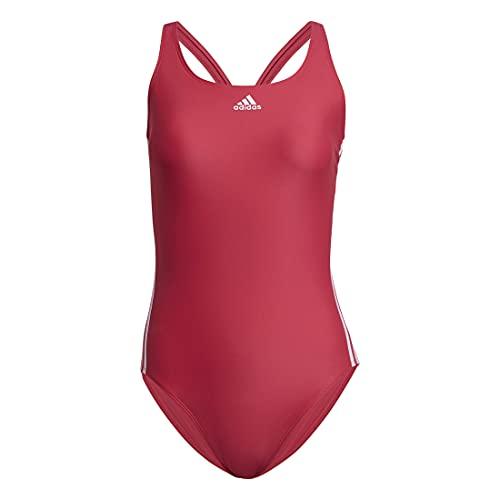 adidas SH3.RO 3S Suit Costume da Bagno, Rosso/Bianco (Rosint/Blanco), 42 Donna